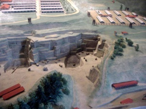 Scale model of Mauthausen quarry
