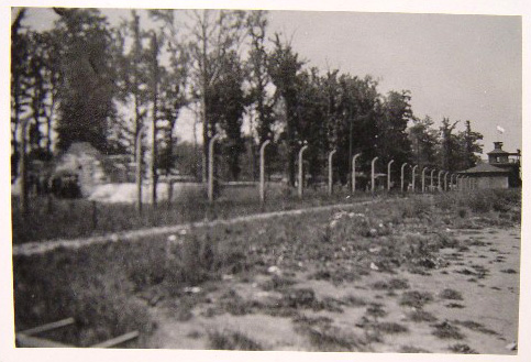 Photo of Buchenwald taken after the liberation of the camp