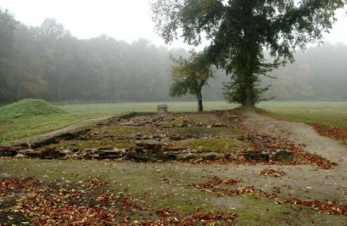 Ruins of Bunker #2, the little white house