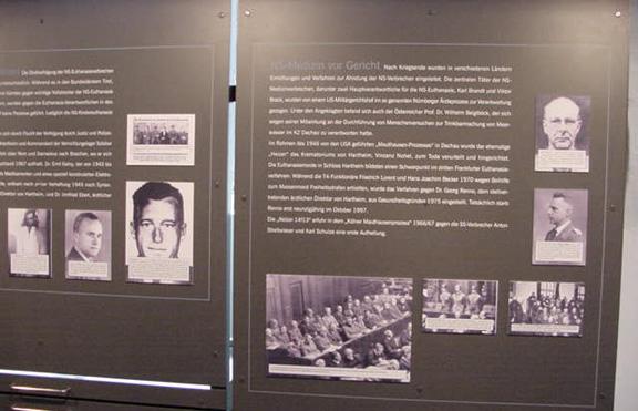 Exhibit at Hartheim Castle shows Franz Stangl
