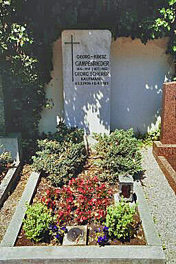 Grave of Georg Scherer in the Old Cemetery in Dachau