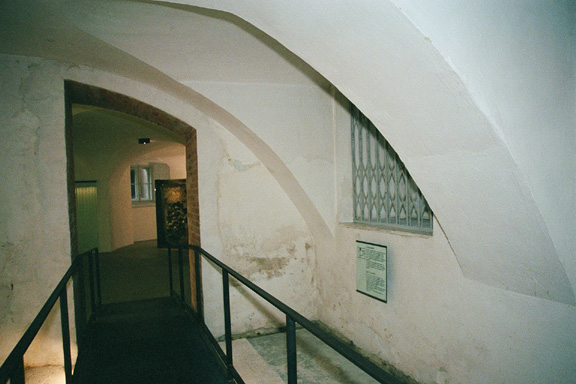 Entrance into the Hartheim Castle gas chamber
