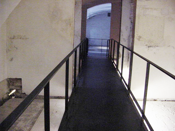 Exit from Hartheim Castle gas chamber