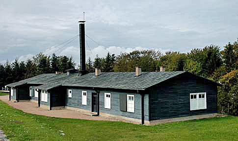 Crematorium building at Natzweiler-Struthof