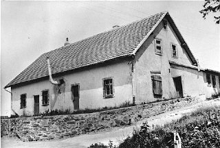The building where Jews were gassed at Natzweiler