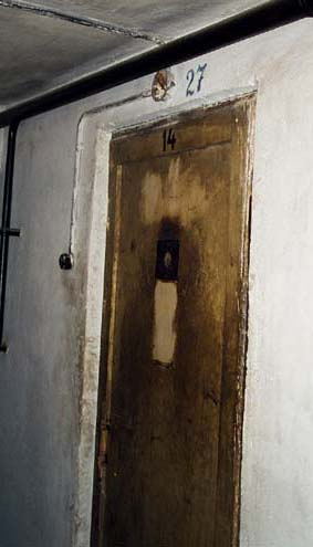 Cell #27 in Block 11 where the first gassing allegedly took place