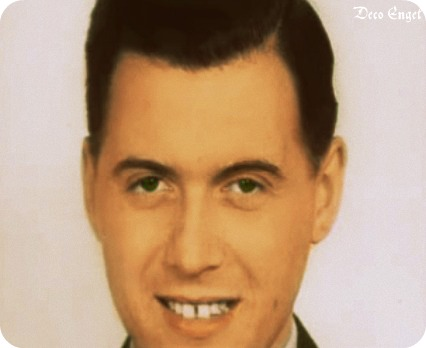 Color photo of Dr. Josef Mengele shows he has brown eyes