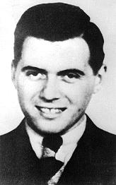 Dr. Josef Mengele who selected prisoners for the gas chamber at Auschwitz