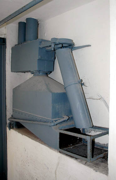 Degesh machine used to input Zyklon-B gas into a disinfection chamber