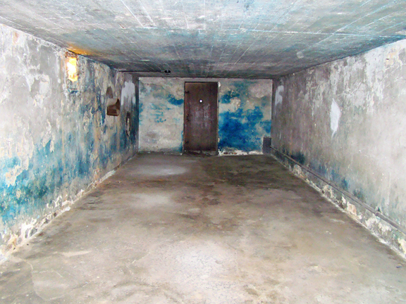 The main gas chamber in Building 41  Photo Credit: The Black Rabbit of Inlé