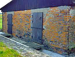 Rear of Building #41 at Majdanek