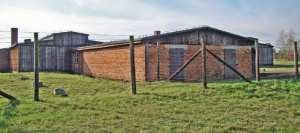 "Brick ""add-on"" to Building #41 at Majdanek"
