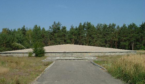 Ashes of the Jews who were gassed and burned at Sobibor Photo Credit: Alan Collins