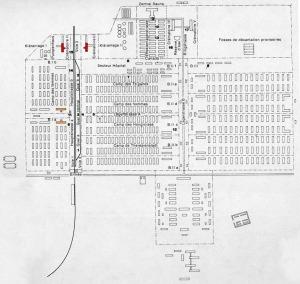 Map of Auschwitz-Birkenau