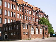 Bullenhuser Damm school in Hamburg where Jewish children were murdered