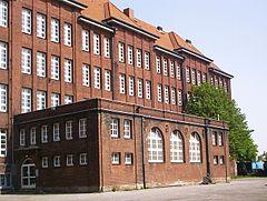 Bullenhuser Damm school in Hamburg where Jewish children were murdered