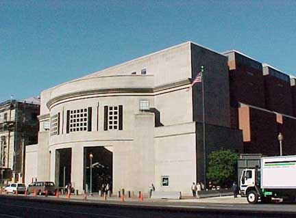 Entrance to United States Holocaust Memorial Museum