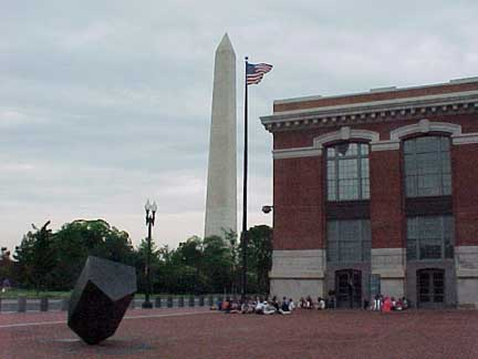 The USHMM is close to the Washington Monument
