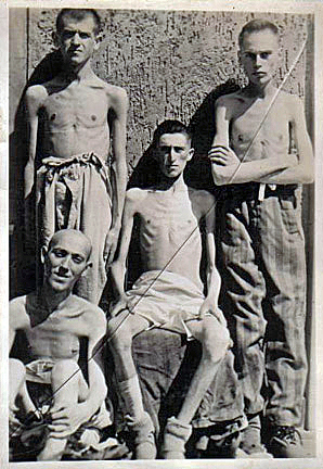 Photo of German POWs at Bad Nenndorf Britrish prison