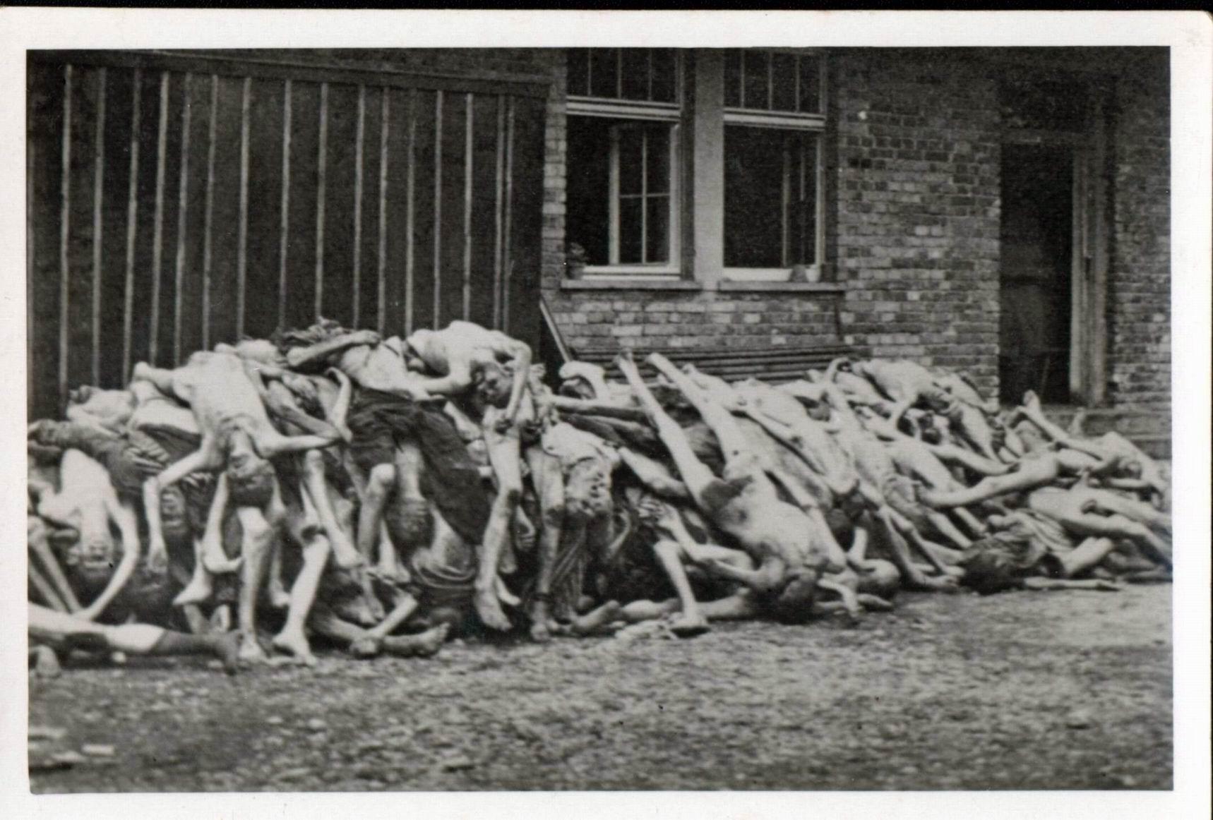 Dachau Crematorium During The Holocaust