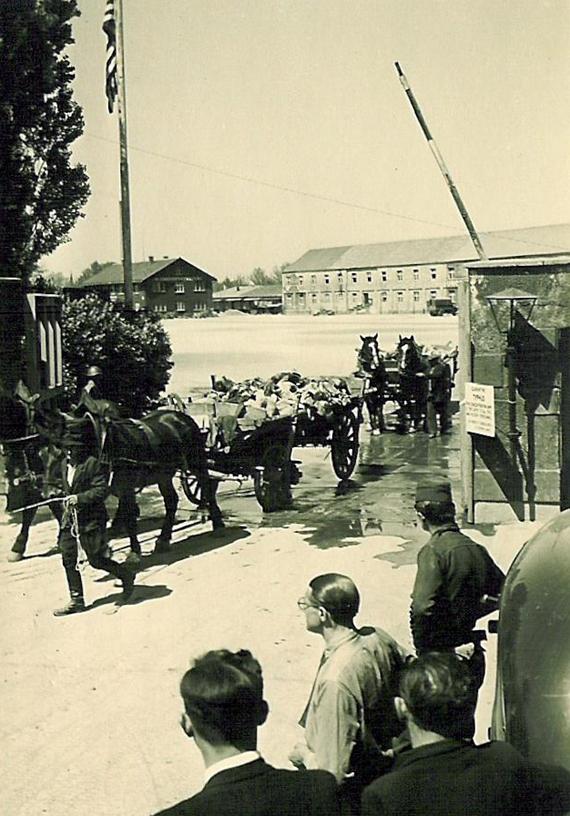 Dachau farmers were forced to bury the bodies at Dachau