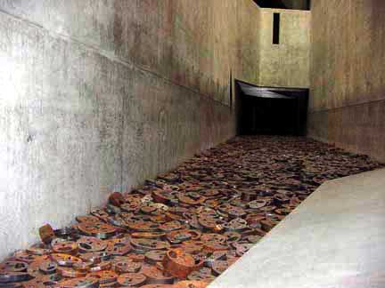 Fallen leaves in the Memory Void Tower