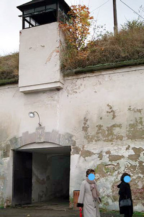 Entrance into the Fourth Courtyard in the Small Fortress