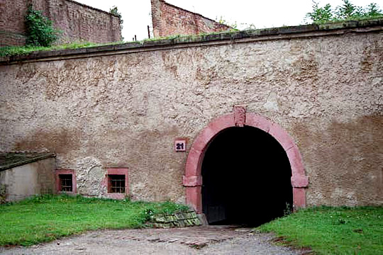"The ""Gate of Death"" at the Small Fortress"