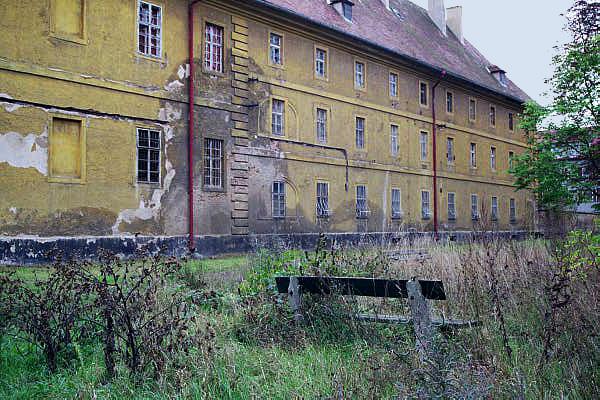 Hamburg Barracks in former Theresienstadt ghetto