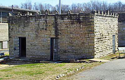 A real gas chamber in Jefferson City, MO that was used for execution