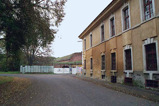 Podmokly Barracks at Theresienstadt
