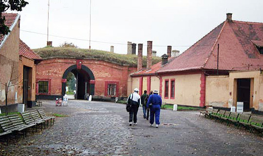 Exit from the Third Courtyard in the Small Fortress