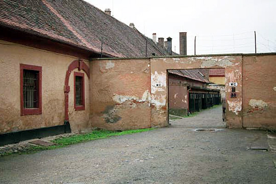 Entrance into Women's Camp inside the Small Fortress