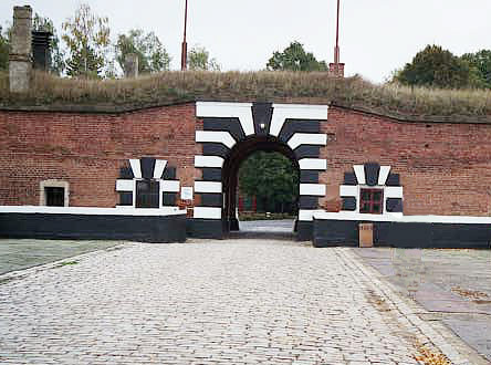 The main entrance into the Small Fortress