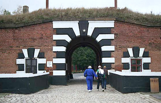 Entrance to the Small Fortress is also the exit