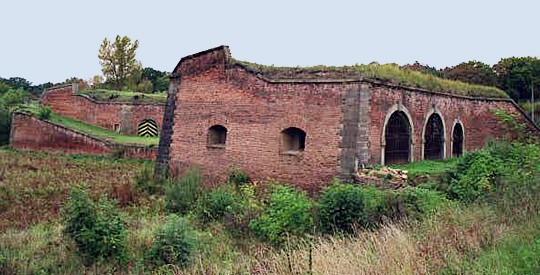 Theresienstadt was an old military fort