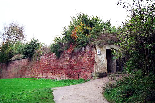 Exit from the tunnel in the Small Fortress