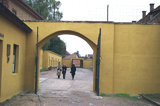 The Women's camp in the Small Fortress had factories where the women worked