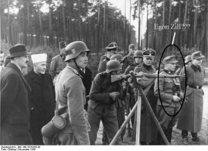 Photo of a German soldier who may or may not be Egon Zill