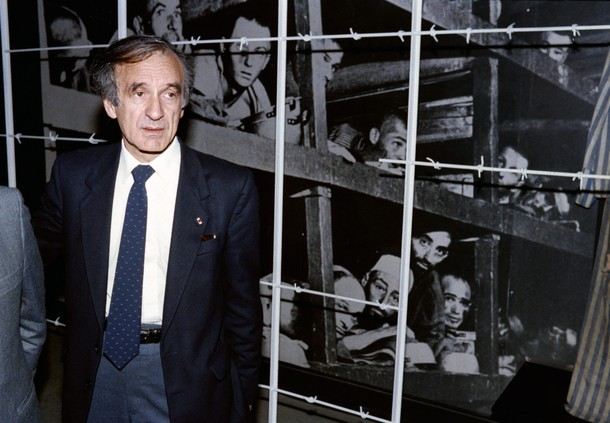 Elie Wiesel was an orphan at Buchenwald -- NOT