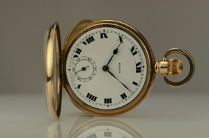 Vintage gold pocket watch