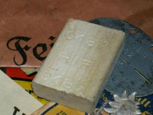 Bar of soap made from Jewish fat