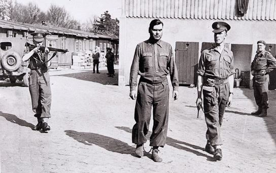 Josef Kramer was arrested by the British after the Bergen-Belsen camp was turned over to them
