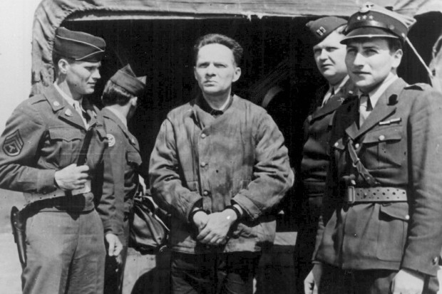 Rudolf Hoess was captured and tortured by British soldiers