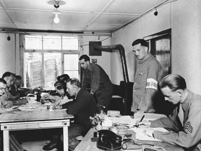 """The U.S. """"war crimes"""" office at Dachau"""