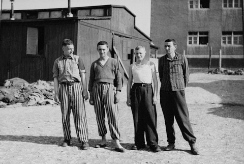 Teenagers who were liberated from Buchenwald, not including Elie Wiesel