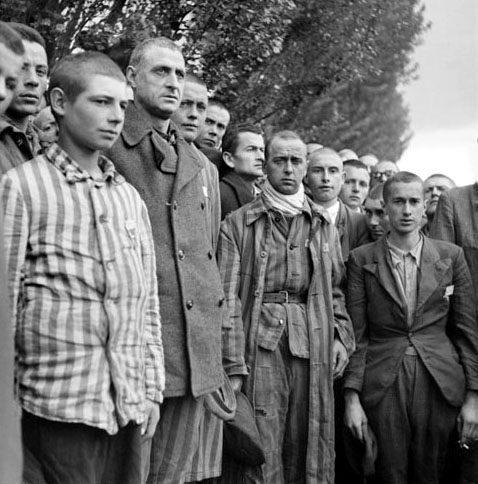 French resistance fighters at Dachau