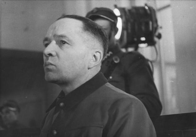 Rudolf Hoess at the Nuremberg IMT