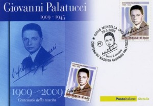 Postage stamps in honor of Giovanni Palatucci
