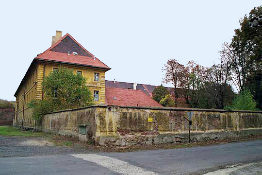 Hohenelbe Barracks at Theresienstadt contained a hospital